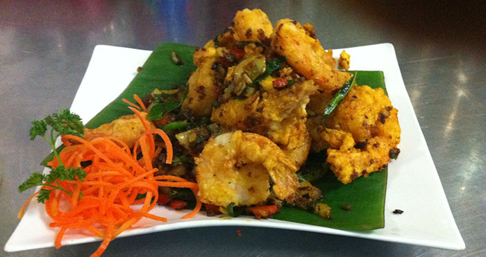Curried Leave King Prawns